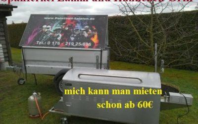 Spanferkel-, Lamm- & Hähnchengrill