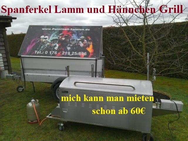 Spanferkel Grill bei Actionpark NRW - Paintball und Lasertag in Lippstadt
